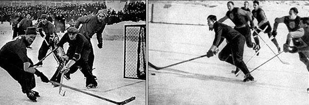 Хоккей с шайбой в СССР. Первый чемпионат
