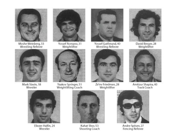 11 жертв террора на Олимпиаде в Мюнхене 1972