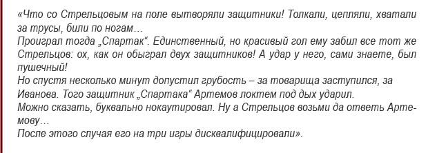 """Оизыв болельщика минского """"Спартака"""" об игре Стрельцова"""