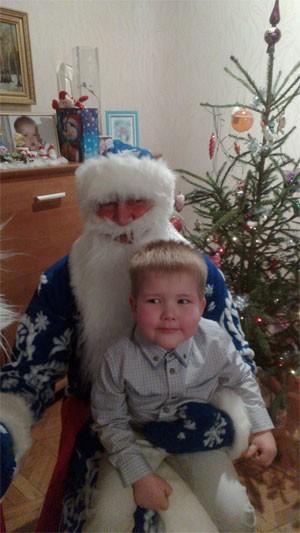 Дед Мороз пришел к Никите