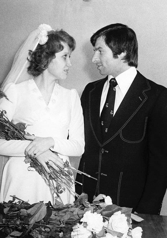 Валерий Харламов и жена Ирина
